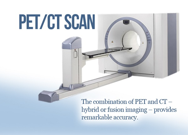 An image showing the PET CT Scan equipment and few lines written about it.