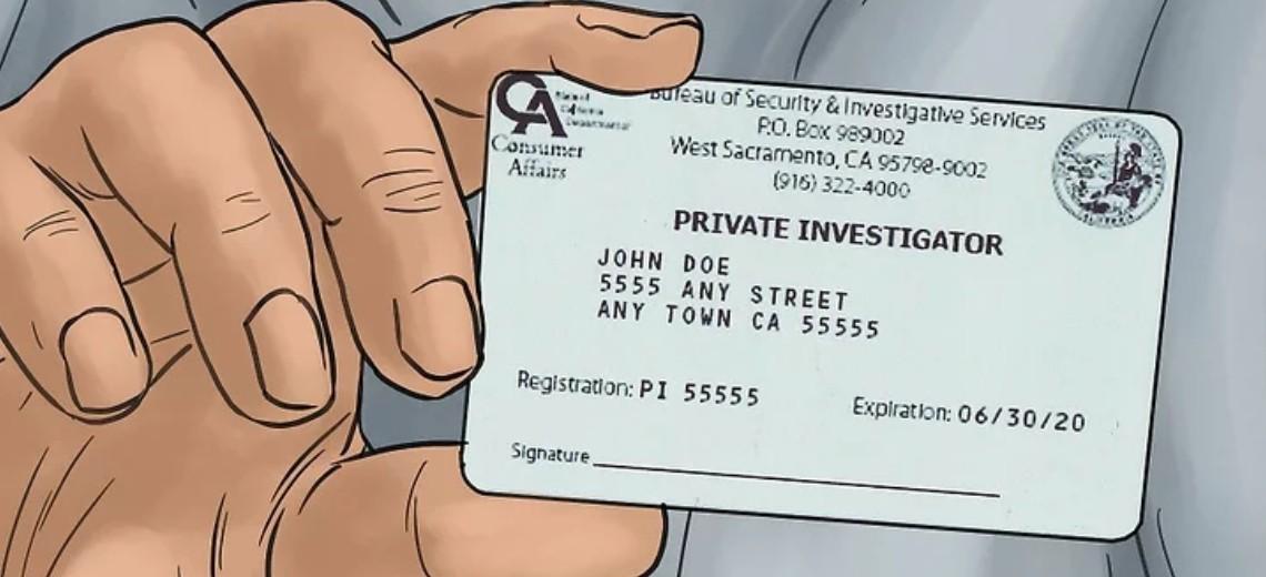License requirements for Private Investigators